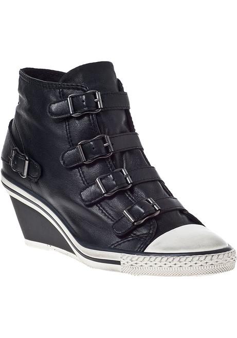 799c2ca9c56e Genial Wedge Sneaker Black Black Leather.  140.00  200.00. Ash