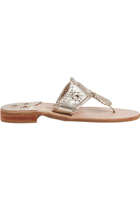 660efcbcef762 Hamptons Thong Sandal Platinum Leather · Hamptons Thong Sandal Platinum  Leather ...