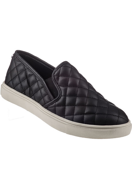 6f0429cd01a Ecentrcq Grey Quilted Slip-On Sneaker - Jildor Shoes