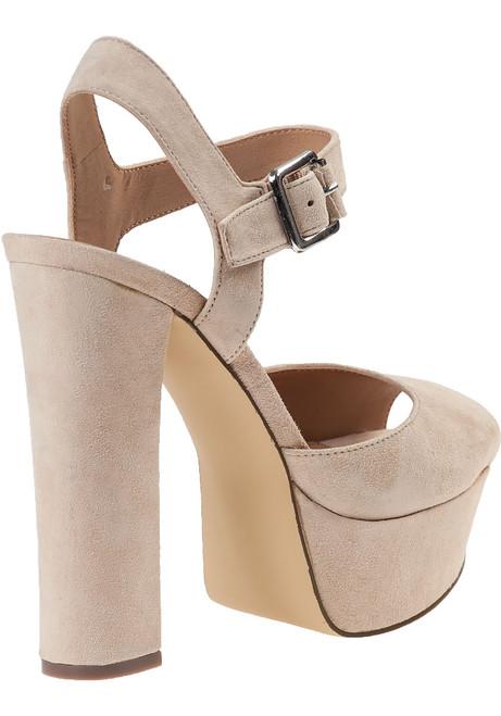 cc04228b8bdc Jillyy Platform Sandal Blush Suede - Jildor Shoes
