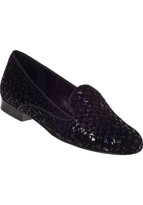 b080fe32ce99 Agenda Loafer Sequin Black Velvet