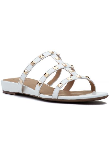 e8aa79ac2eed36 Bing Sandal White Leather