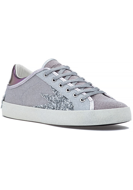 09fc369b0179e Faith Lo Explosion Lace Up Sneaker Silver