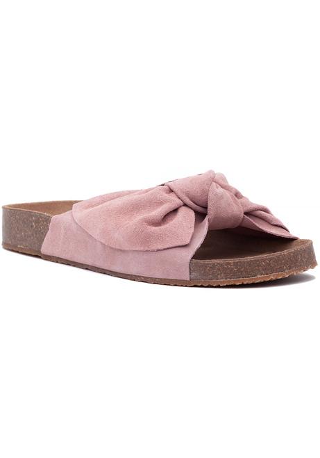 6cbaf5b904f4 Sunmist Sandal Pink Suede
