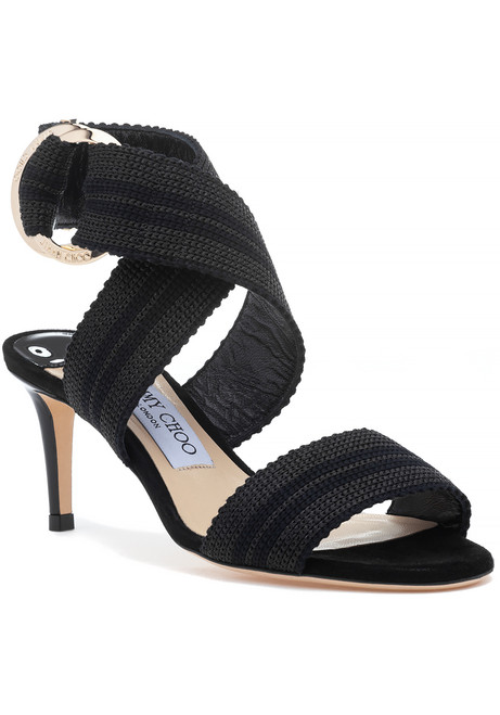 e9a582d83f1 Bailey 65 Sandal Black.  425.00  850.00. THIS ITEM SHIPS FREE! Jimmy Choo