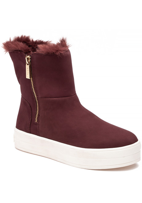3d5125c55941 Henley Boot Burgundy Waterproof Nubuck