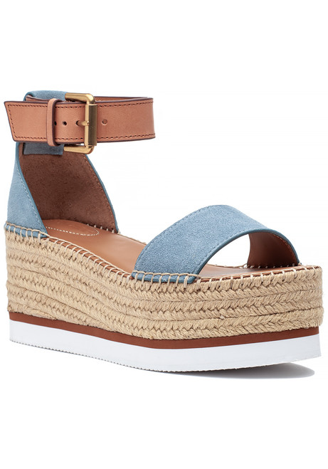 02cf79506 Glyn Espadrille Sandal Light Blue. $161.25 $215.00. See by Chloe
