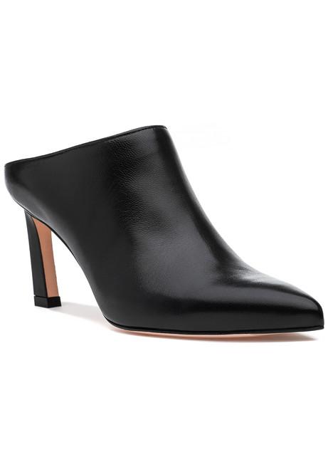 3911e41c8a265 Mira 75 Mule Black Leather