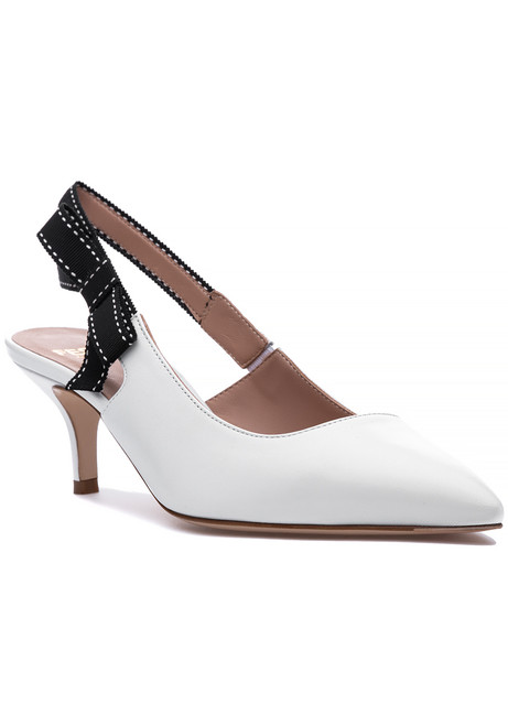 c28c3be6fc9 Molly Pump White Leather