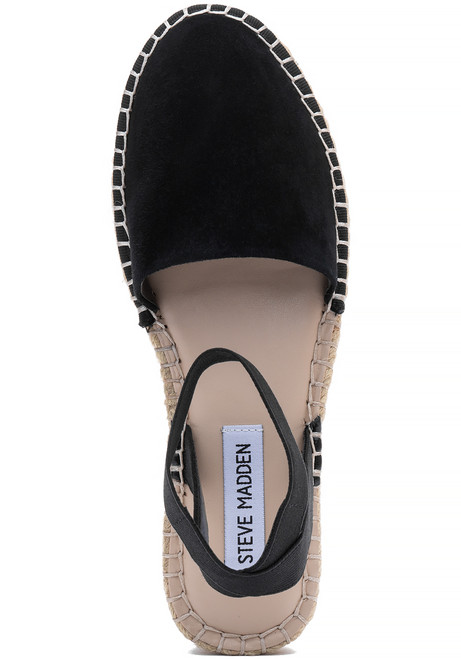 60377e780 Moment Espadrille Black Suede - Jildor Shoes