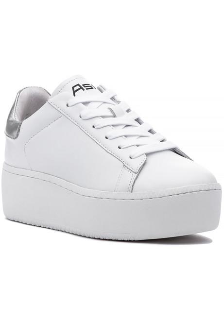 9daf96b53561 Cult Sneaker White R Silver