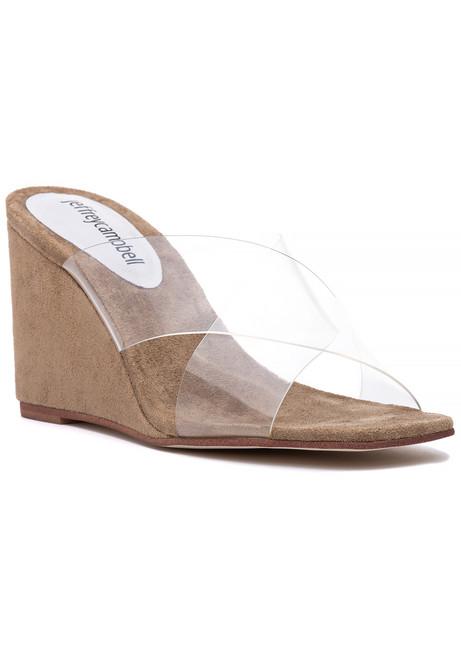 cba3d882501 Mystical Sandal Clear Neutral.  125.00. Jeffrey Campbell