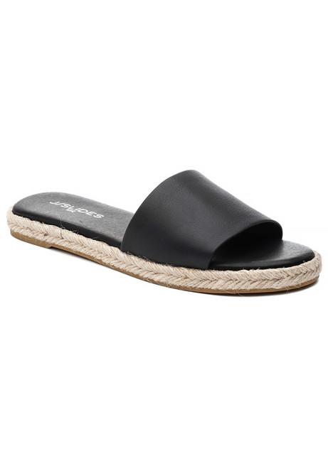 e46dedb85ab Ronnie Sandal Black Leather. $75.00 $125.00. J/Slides