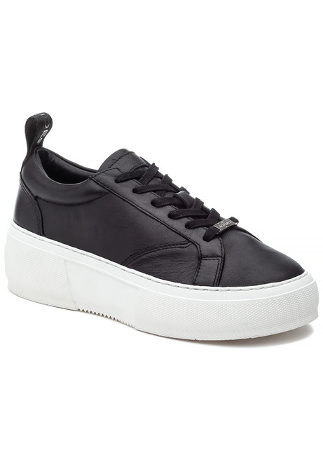 f81b3bc1a Courto Sneaker Black Leather. $150.00. J/Slides