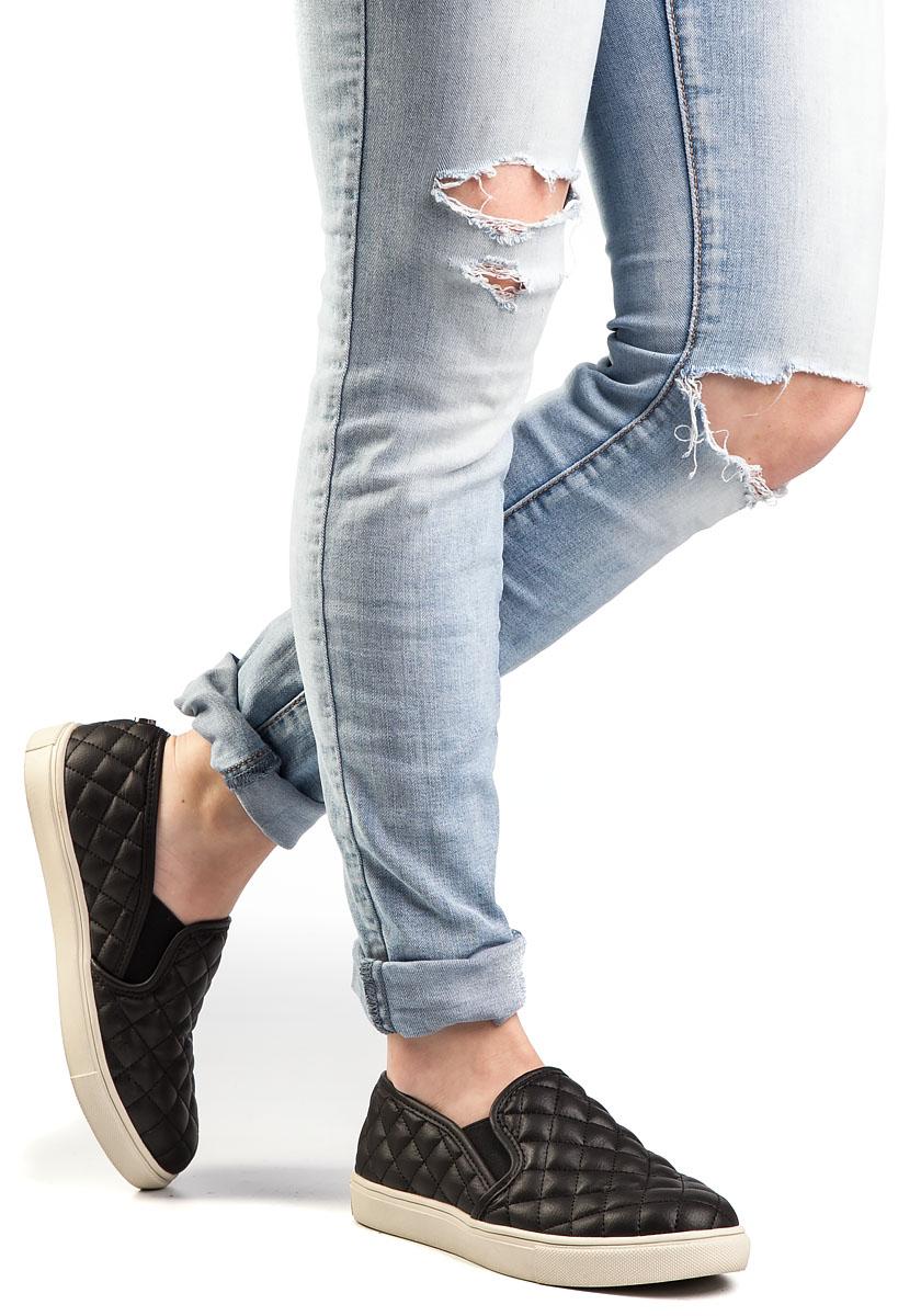 Ecentrcq Slip-On Sneaker Black - Jildor
