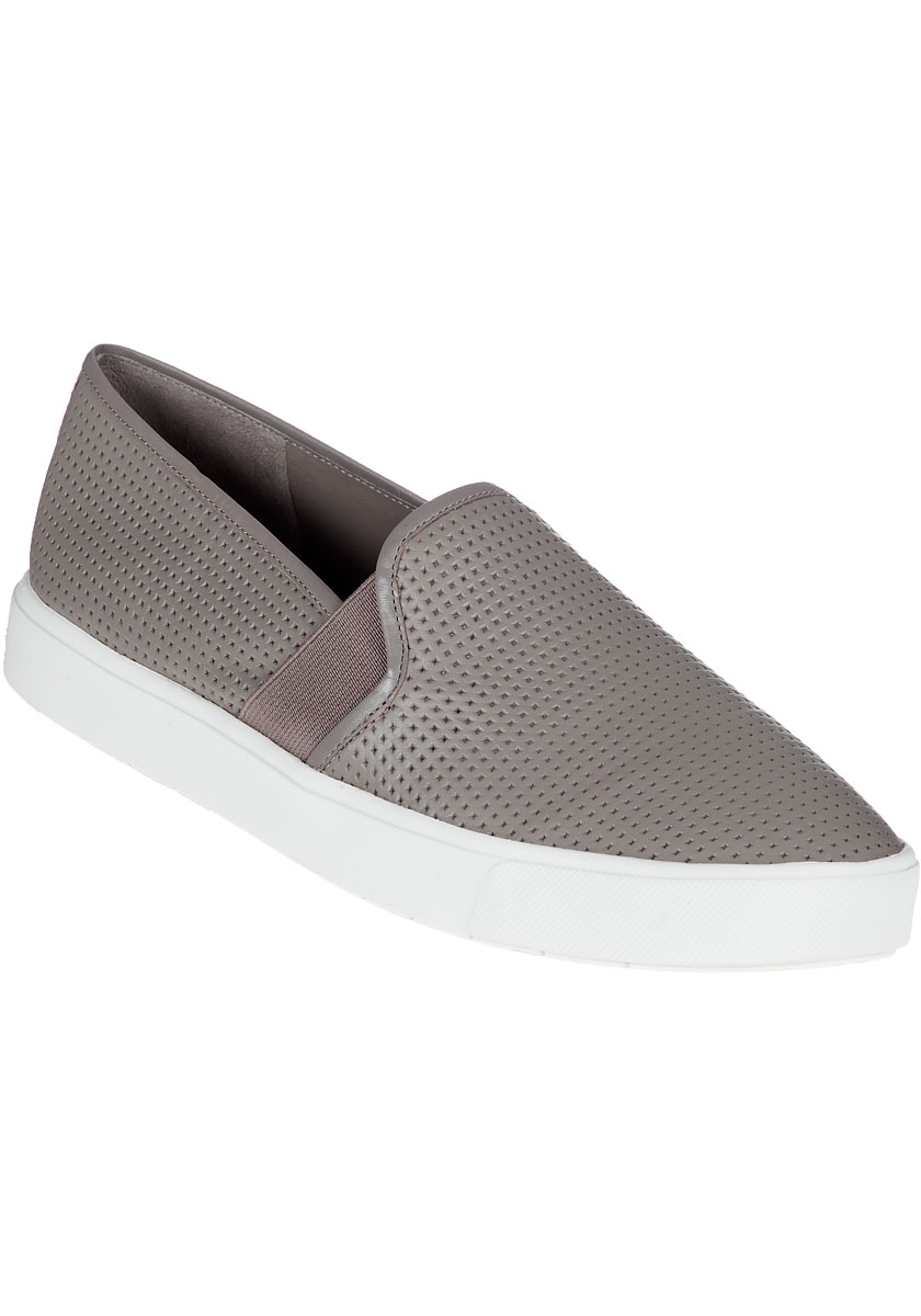 Blair Slip-On Sneaker Woodsmoke Leather