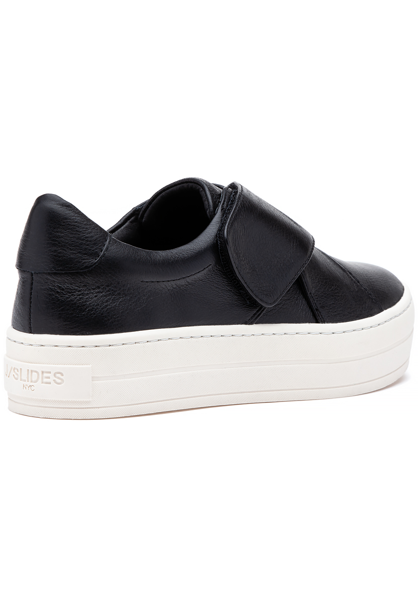 Harper Sneaker Black Leather - Jildor Shoes