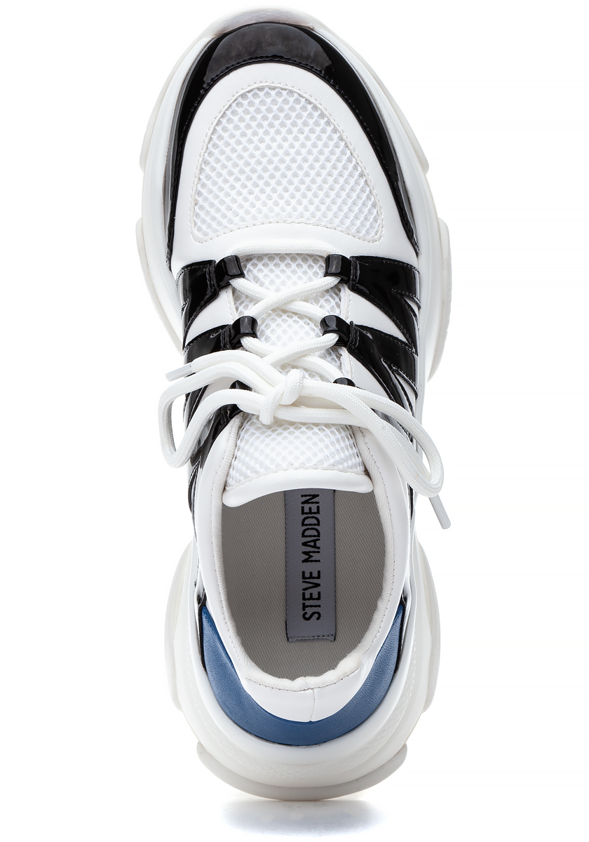 f5f018d6dd3 Maximus Lace Up Sneaker White Multi - Jildor Shoes