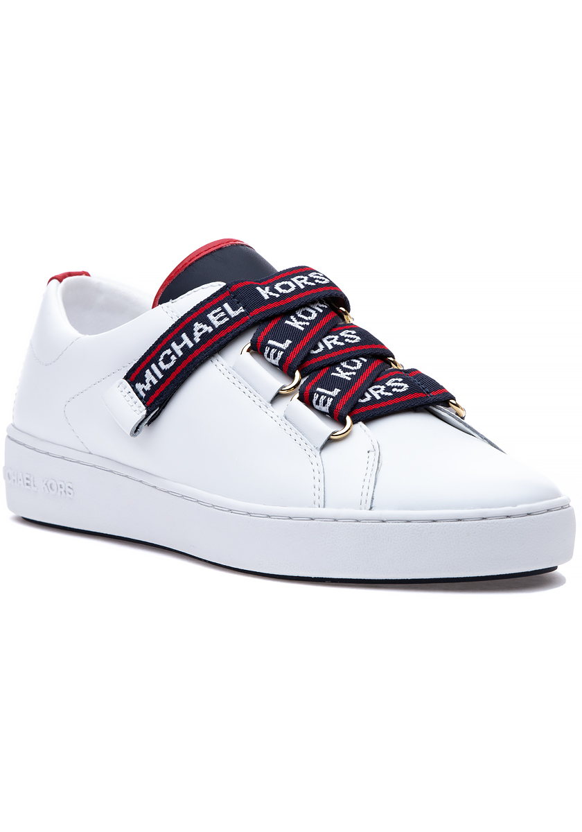 Casey Sneaker White Leather - Jildor Shoes