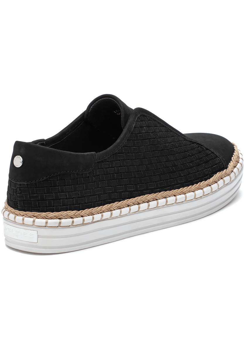 Kayla Sneaker Black Nubuck - Jildor Shoes