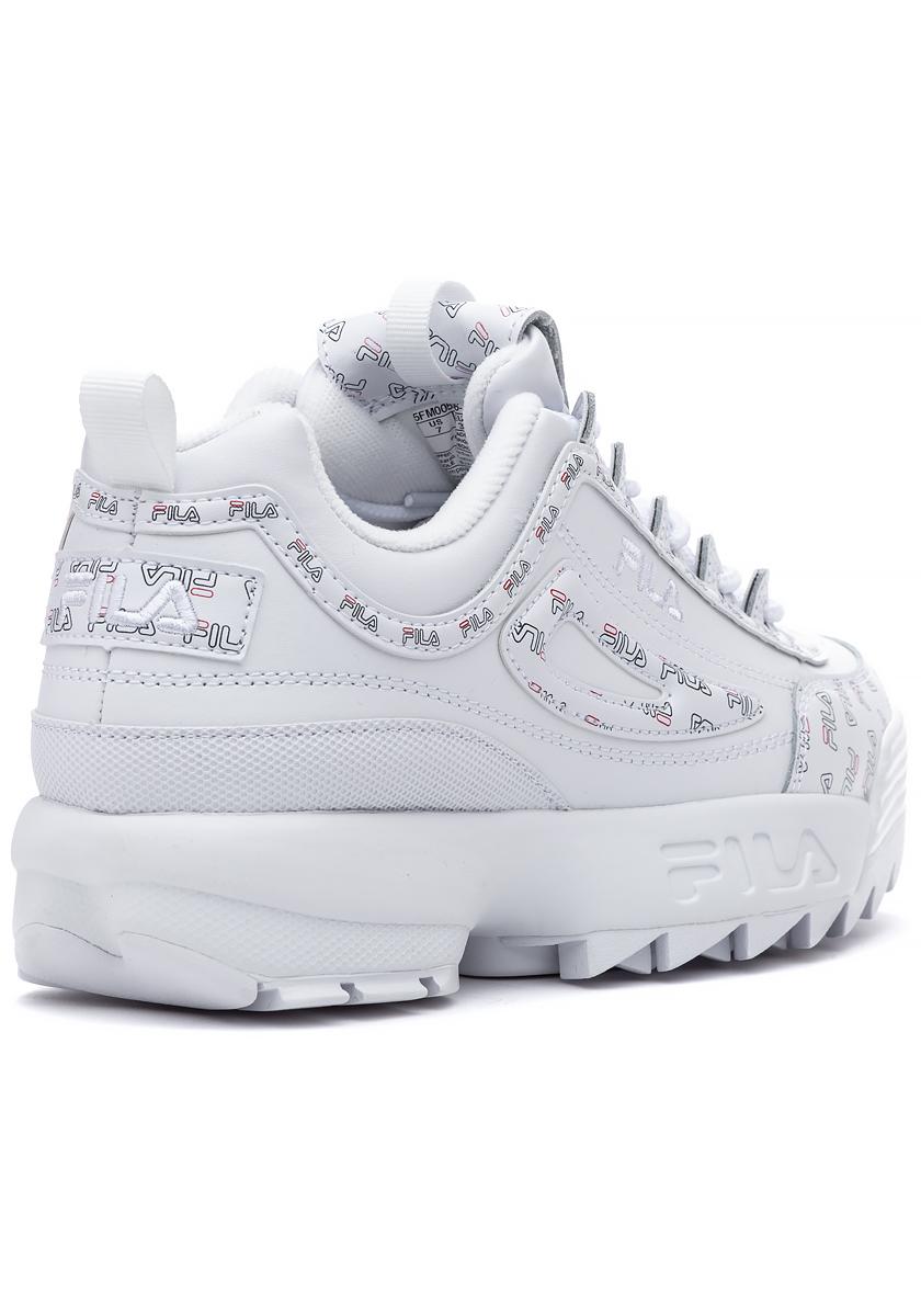 Disruptor II Multi Flag Sneaker White