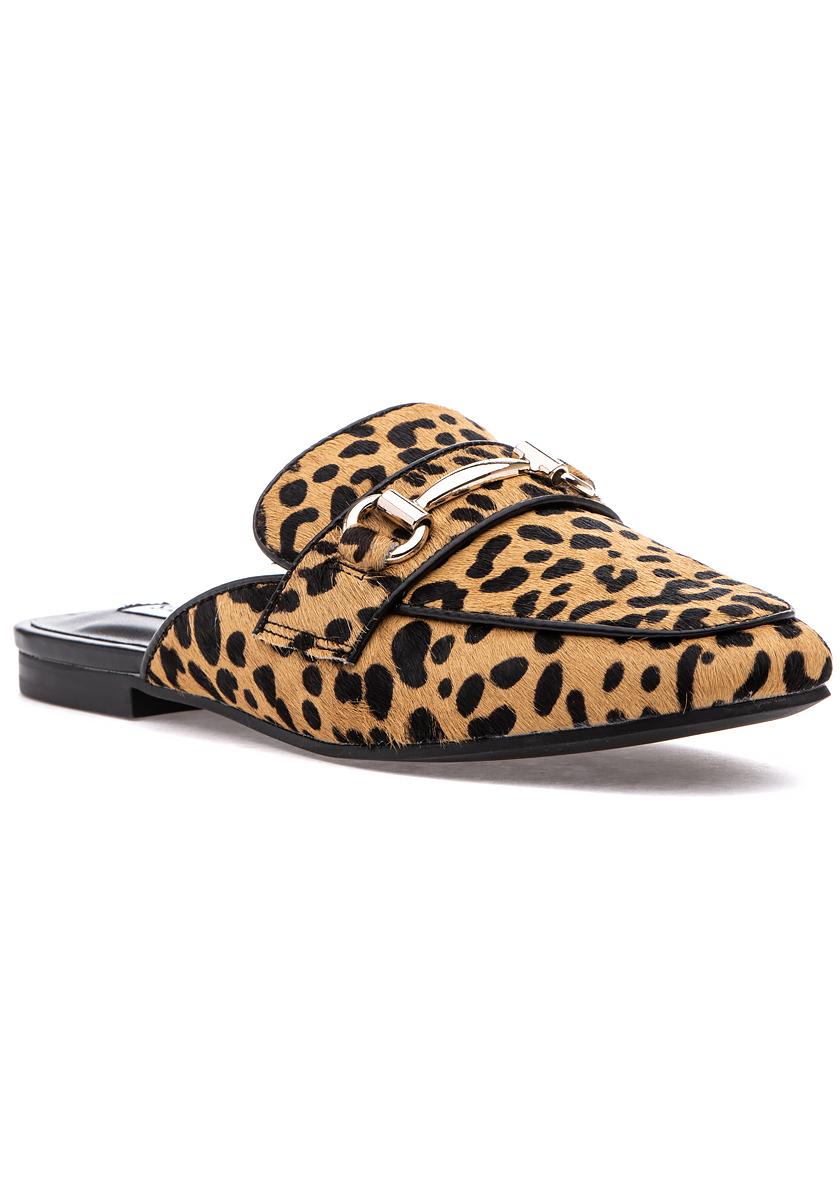 Kori Mule Leopard - Jildor Shoes