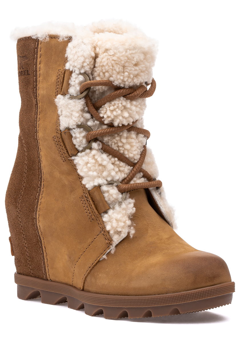 Joan of Arctic Wedge II Shearling Boot