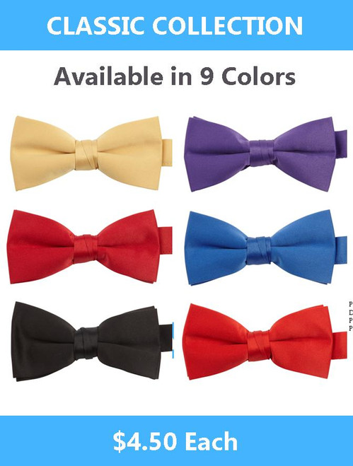 Value Collection Bow Ties $4.50
