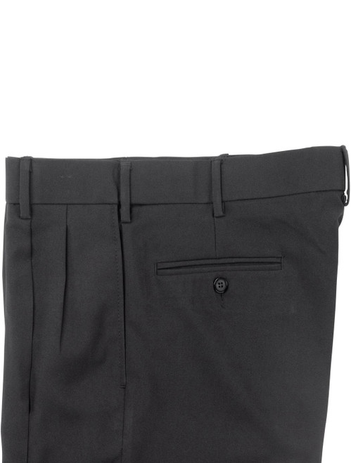 Pants | Dress Pants | Performance Polyester | Comfort Waist | Pleated Front
