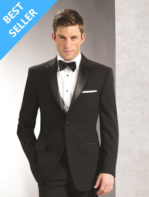 Tuxedo Coat | One Button | Notch Lapel | Polyester