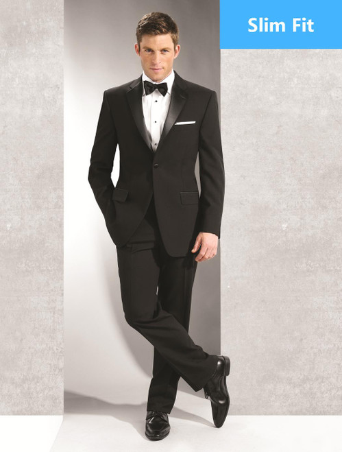 Tuxedo Coat | One Button | Notch Lapel | Polyester | Slim Fit