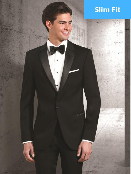 Tuxedo Coat | One Button | Notch Lapel | Wool | Slim Fit