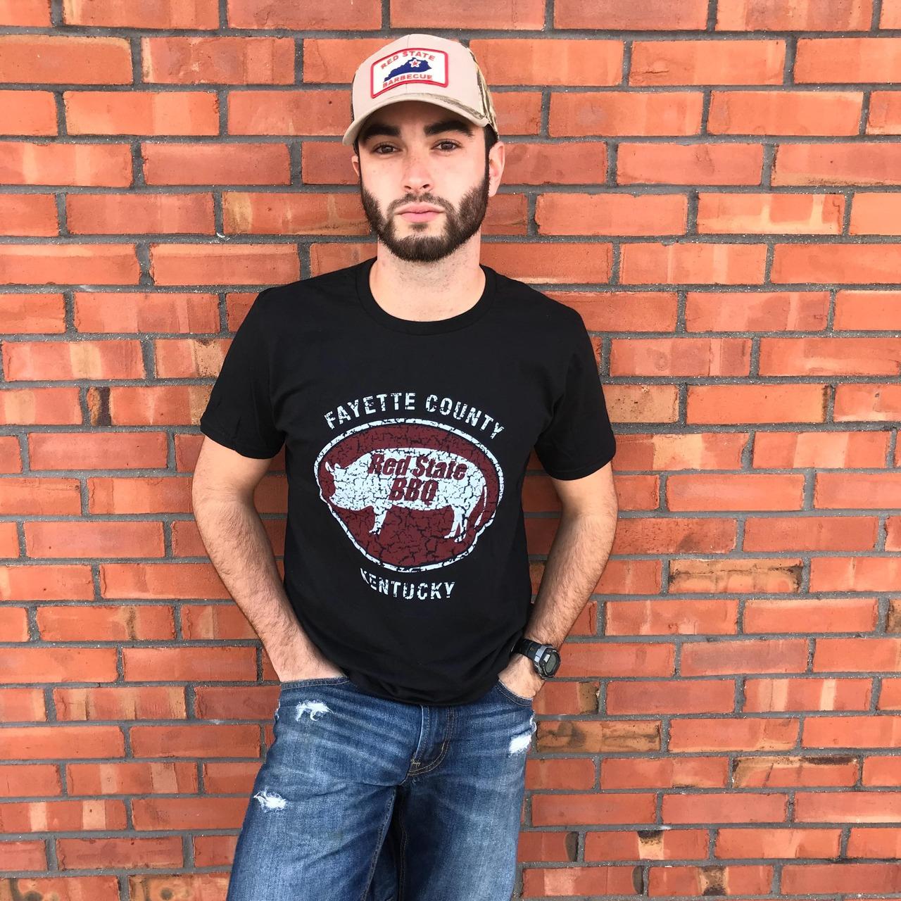 Guys Black  T-Shirt