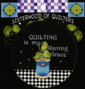 """""""Quilting is My Saving Grace"""" Button"""