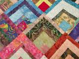 Batik Bento Block Quilt