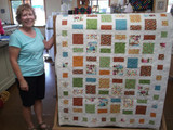Janet's Modern Camping Quilt