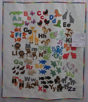 Animal Alphabet for Juniper Quilt