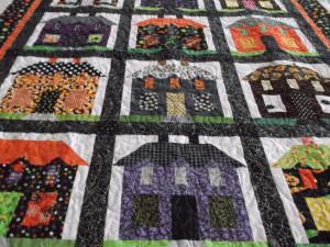 Halloween Houses Quilt
