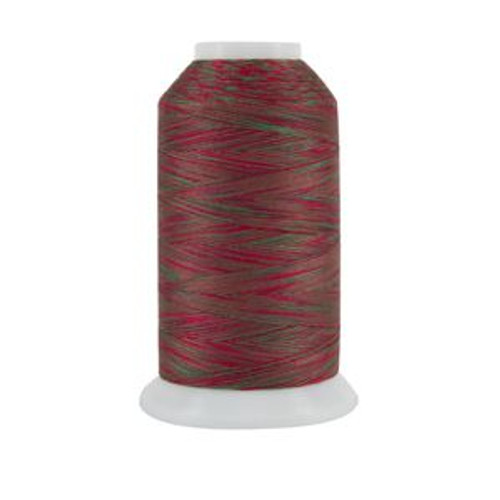 King Tut - 1002 - Holly and Ivy - Cone - 2000 yds - 100% Eqyptian-grown Cotton Variegated Quilting Thread