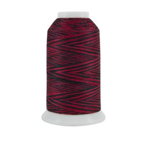 King Tut - 1003 - Glowing Embers - Cone - 2000 yds - 100% Eqyptian-grown Cotton Variegated Quilting Thread