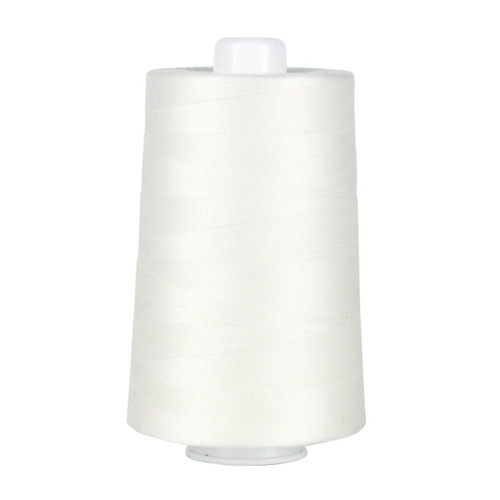 OMNI - 3002 - Natural White - Cone - 6000 yds - Poly-wrapped Poly Core Serging & Quilting Thread