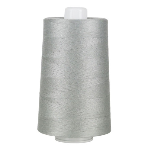 OMNI - 3023 - Light Gray - Cone  - 6000 yds - Poly-wrapped Poly Core Serging & Quilting Thread