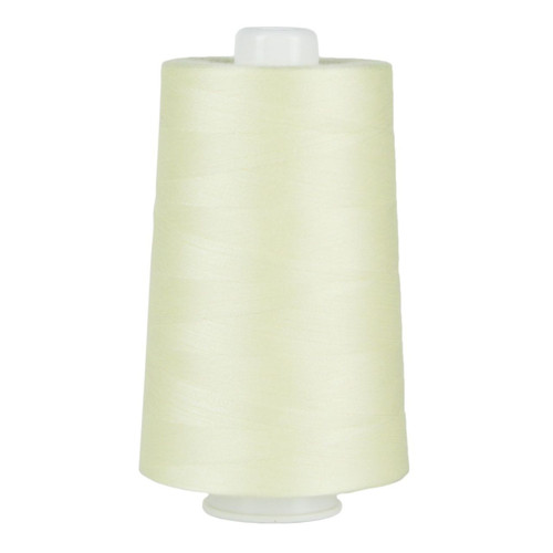 OMNI - 3047 - Light Lemon - Cone  - 6000 yds - Poly-wrapped Poly Core Serging & Quilting Thread