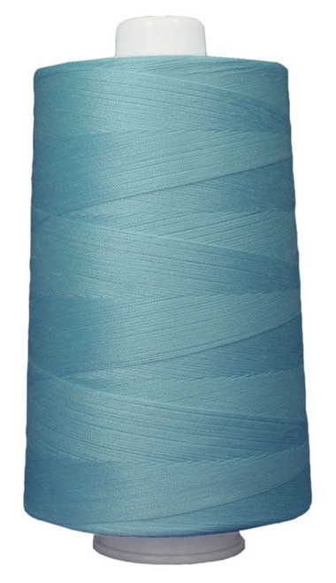 OMNI - 3089 - Light Turquoise - Cone - 6000 yds - Poly-wrapped Poly Core Serging & Quilting Thread