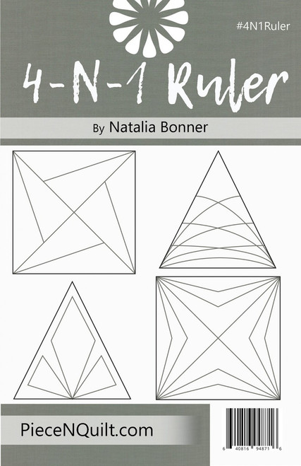 4-N-1 Machine Quilting Ruler by Natalia Bonner