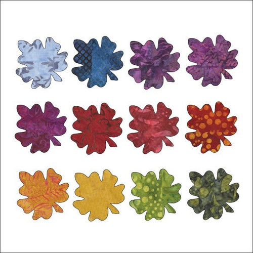 Falling Leaves - Maple - Applique Set