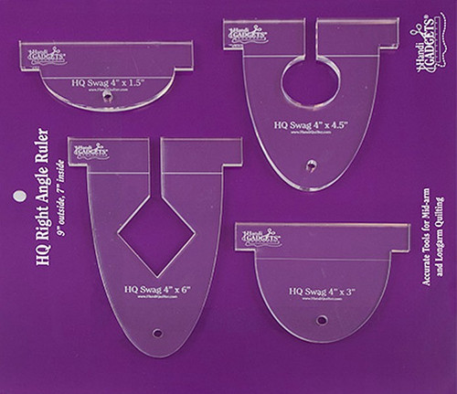 HQ 4in Swag Templates from Handi Quilter