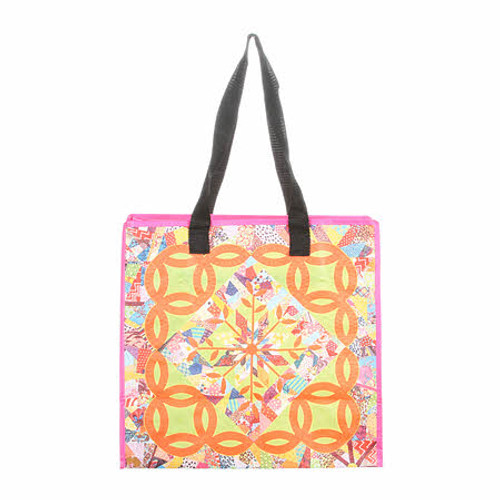 A Summer's Day Zippered Eco Tote Bag - Designed by Victoria Findlay Wolfe