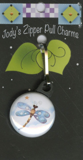 Dragonfly Zipper Pull Charm