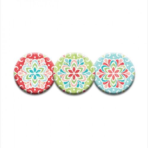 Gingerbread - Set of 3 - Magnets - Designed by Amanda Murphy